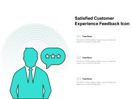 Satisfied Customer Experience Feedback Icon