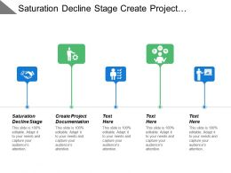 Saturation Decline Stage Create Project Documentation Document Agendas