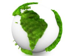 Save And Protect Earth Stock Photo