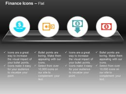 Save Dollar Money Locker Loss Ppt Icons Graphics