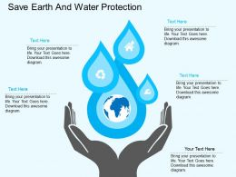 save_earth_and_water_protection_flat_powerpoint_desgin_Slide01