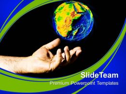 Save Earth Globe Environement Powerpoint Templates Ppt Themes And Graphics 0113