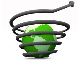Save Energy To Protect Globe Stock Photo