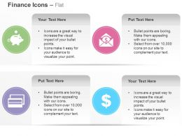 save_money_dollar_email_debit_card_financial_growth_ppt_icons_graphics_Slide01