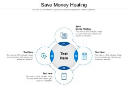Save Money Heating Ppt Powerpoint Presentation Slides Deck Cpb