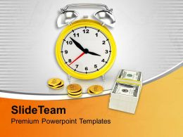 Save Time And Money Financial Business Powerpoint Templates Ppt Themes And Graphics 0313
