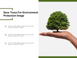 Save Trees For Environment Protection Image