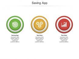 Saving App Ppt Powerpoint Presentation Slides Styles Cpb