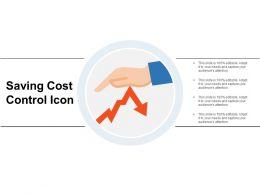 Saving Cost Control Icon