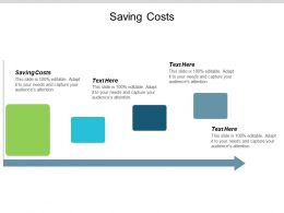Saving Costs Ppt Powerpoint Presentation Professional Picture Cpb