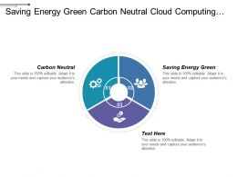 Saving Energy Green Carbon Neutral Cloud Computing Regulations Education