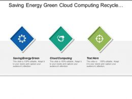 Saving Energy Green Cloud Computing Recycle Product Regulations Industry