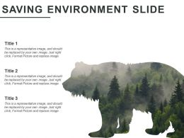Saving Environment Slide Powerpoint Show