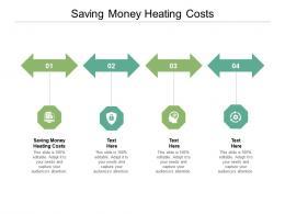 Saving Money Heating Costs Ppt Powerpoint Presentation Professional Master Slide Cpb