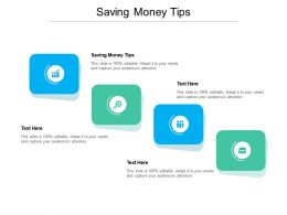 Saving Money Tips Ppt Powerpoint Presentation Model Graphics Design Cpb