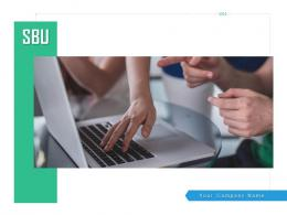 SBU Balanced Scorecard Strategy Map Financial Competitive