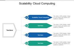 Scalability Cloud Computing Ppt Powerpoint Presentation Show Clipart Cpb