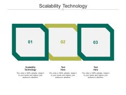 Scalability Technology Ppt Powerpoint Presentation Infographic Designs Cpb