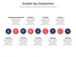 Scalable App Development Ppt Powerpoint Presentation Model Design Templates Cpb