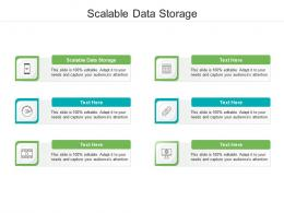Scalable Data Storage Ppt Powerpoint Presentation Formats Cpb