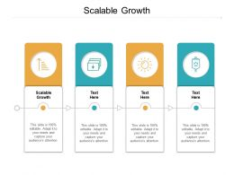 Scalable Growth Ppt Powerpoint Presentation File Files Cpb
