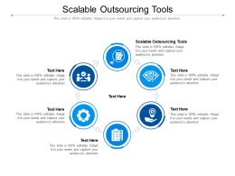 Scalable Outsourcing Tools Ppt Powerpoint Presentation Summary Example Topics Cpb