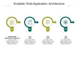 Scalable Web Application Architecture Ppt Powerpoint Presentation Slide Cpb