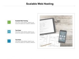 Scalable Web Hosting Ppt Powerpoint Presentation Outline File Formats Cpb