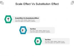 Scale Effect Vs Substitution Effect Ppt Powerpoint Presentation Slides Templates Cpb