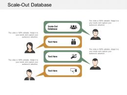 Scale Out Database Ppt Powerpoint Presentation Summary Slide Download Cpb