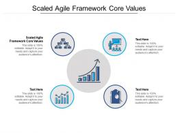 Scaled Agile Framework Core Values Ppt Powerpoint Presentation Pictures Designs Cpb