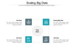 Scaling Big Data Ppt Powerpoint Presentation Styles Show Cpb