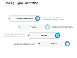 Scaling Digital Innovation Ppt Powerpoint Presentation Portfolio Example File Cpb