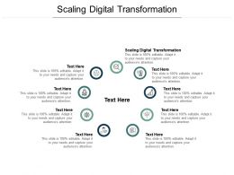 Scaling Digital Transformation Ppt Powerpoint Presentation Summary Styles Cpb
