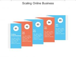 Scaling Online Business Ppt Powerpoint Presentation Gallery Guide Cpb