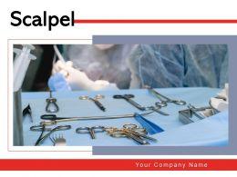 Scalpel Instrument Operation Surgery Surgical Scissor