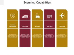 Scanning Capabilities Ppt Powerpoint Presentation Pictures Microsoft Cpb
