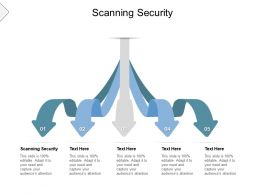 Scanning Security Ppt Powerpoint Presentation Infographics Model Cpb