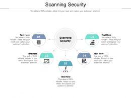 Scanning Security Ppt Powerpoint Presentation Portfolio Outline Cpb