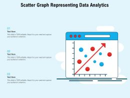 Scatter Graph Representing Data Analytics
