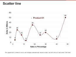 Scatter Line Presentation Powerpoint