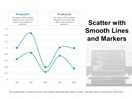 Scatter With Smooth Lines And Markers Ppt Professional Images