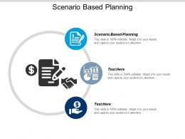 Scenario Based Planning Ppt Powerpoint Presentation Model Examples Cpb