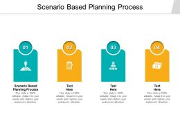 Scenario Based Planning Process Ppt Powerpoint Presentation Show Visuals Cpb