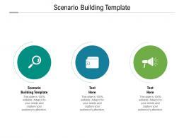 Scenario Building Template Ppt Powerpoint Presentation Outline Clipart Cpb