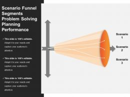 Scenario Funnel Segments Problem Solving Planning Performance