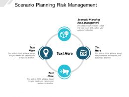 Scenario Planning Risk Management Ppt Powerpoint Presentation Layouts Graphics Pictures Cpb