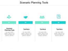 Scenario Planning Tools Ppt Powerpoint Presentation Ideas Portfolio Cpb