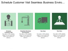 Schedule Customer Visit Seamless Business Environment Supply Chain