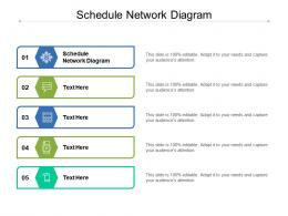Schedule Network Diagram Ppt Powerpoint Presentation Layouts Background Designs Cpb